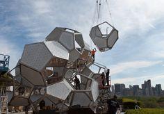 WIP Cloud Cities at The Met, Tomás Saraceno, 2012