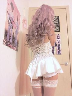 clothes, pastel goth, and fashion imageの画像 Lingerie Bonita, Lingerie Fine, Jolie Lingerie, Pretty Lingerie, Sexy Outfits, Cute Outfits, Fashion Outfits, Fashion Hair, Style Kawaii