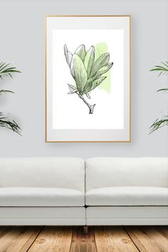 Colorful Wall Art, Green Plants, All Print, Decoration, Watercolor Art, Wall Art Prints, Wall Decor, Unique Jewelry, Handmade Gifts
