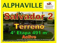 Terreno a venda, Alphaville Salvador 2, 491 m²