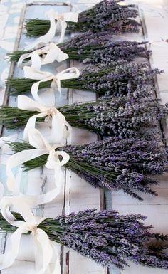 Lavender bouquet for the bridesmaids?