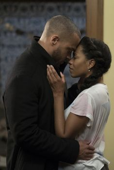 """""""Jaggie"""" - Jackson and Maggie (Jesse Williams and Kelly McCreary) - Grey's Anatomy Season 14 Episode 14, """"Games People Play"""""""