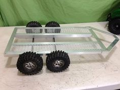 RC 1/10 Scale Tandem Axle Trailer Build - YouTube