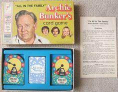 Check out Milton Bradley ALL IN FAMILY ARCHIE BUNKER Game 1972  http://www.ebay.com/itm/Milton-Bradley-ALL-FAMILY-ARCHIE-BUNKER-Game-1972-/160503995965?roken=cUgayN&soutkn=AZyEbb via @eBay