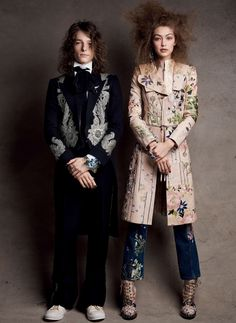 Gigi Hadid Joins Her Boys Club In 'Craft Couture' By Patrick Demarchelier For Vogue US April 2017 — Anne of Carversville Patrick Demarchelier, Sports Illustrated, Looks Gigi Hadid, Lineisy Montero, Tailored Coat, Vogue Us, Gigi Vogue, Dear Evan Hansen, Img Models