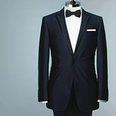 Burton's Black Label Navy Blue Tux (December 2010)