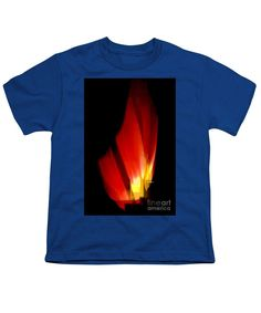 Youth T-Shirt - Abstract Poinsettia