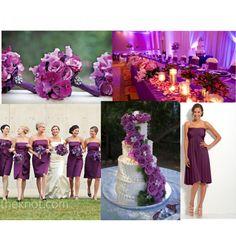 """Purple Wedding Stuff"" by leeeza on Polyvore"