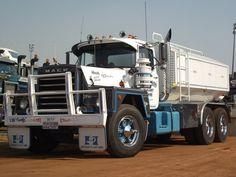 MACK water tanker in Australia Road Train, Mack Trucks