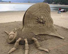 15 Extraordinary Sand Sculptures (sand sculptures, beach sand sculptures) - ODDEE