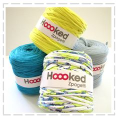 Hoooked Zpagetti Yarn - Beach Tones