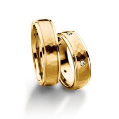 4492978f7050 Золотое Обручальное кольцо с бриллиантом (арт. WRFJ18), купить в ювелирном  магазине Zbird