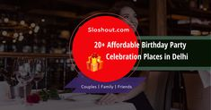 Looking for party venues in Delhi that are cheap yet good to throw a party? Well there are 100s of party venues in Delhi that are pocket-friendly. #cheap #birthdayparty #party #venues #delhi #affordable #bachelorparty Best Birthday Party Places, Birthday Party Venues, Birthday Party Celebration, Throw A Party, Pocket, Celebrities, Celebs, Birthday Party Locations, Celebrity
