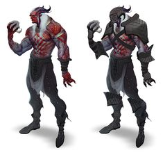 Qunari Concept - Pictures & Characters Art - Dragon Age II