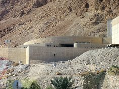 Tourist Center at Masada, Israel #travel #Israel #Masada