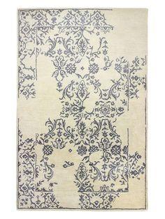 Greenwich Ratna Wool and Silk Rug by Bashian Rugs at Gilt