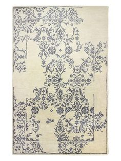 Greenwich Ratna Wool and Silk Rug by Bashian Rugs at Gilt