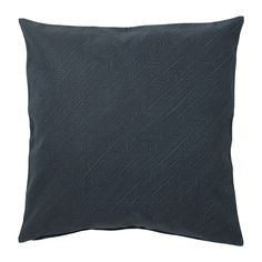 Ikea Ypperlig Cushion Cover 20 New Cotton Pillow Dark Blue Black Stripe Cushion Covers, Throw Pillow Covers, Ikea Ypperlig, Circle Chair, Ikea Decor, Old Chairs, Swedish House, Blue Rooms, Cotton Pillow