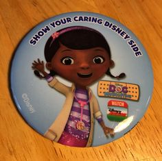 Disneyland DCA Disney Junior Live Button Pin Doc McStuffins Badge  | eBay