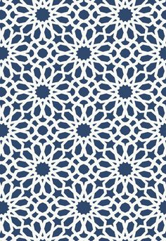 Agadir Screen in Lapis, 5006640. http://www.fschumacher.com/search/ProductDetail.aspx?sku=5006640  #Schumacher