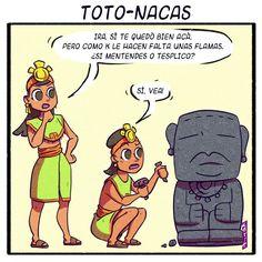 Totonacas  Pedro Larez  Ilustrador