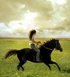 My favorite horse, Flicka.
