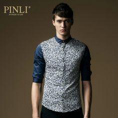 Free Shipping 2014 Summer Men's Clothing Floral Shirts Slim Fit Half-sleeve Casual Men Shirt 8626