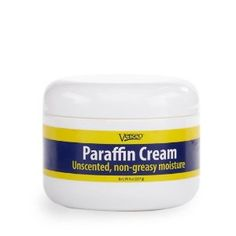 Verseo Paraffin Cream Unscented Non-Greasy Moisture 8 oz. For Men And Women by Verseo. $18.47. 8 oz. jar. Non-greasy. Paraffin Cream Great for dry skin conditions like eczema, dermatitis, nappy rash and minor sunburns. Non-greasy emollient cream is easily absorbed by the skin and creates a protective barrier to help the skin retain moisture. One daily application is typically enough to provide long lasting results. 8 oz. jar.