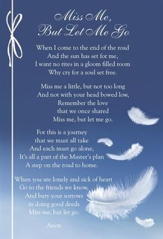 This poem will be part of my Grandmother's Funeral this Thursday 14/5/2015. Just beautiful.
