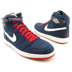 Nike Men's NIKE AIR JORDAN 1 HIGH STRAP BASKETBALL SHOES