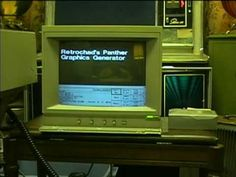 1987 3M Panther Graphics D-6000 character generator This is a device for putting text graphics on video such as at a TV station. Organist1982's dad who owns a video studio gave it to me. I still have a lot to learn on using it! It also has a Summasketch digitizing tablet.