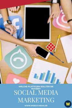 Es steht außer Frage, dass Social Media ein notwendiges Marketinginstrument für jedes Unternehmen ist, das in der heutigen geschäftigen Online-Welt relevant und sichtbar bleiben möchte. Weiter lesen!⬆️ Social Media Plattformen, Marketing, Polaroid Film, Social Media, Business, Reading, World