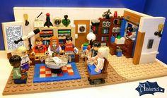 The Big Bang Theory en LEGO