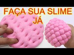 Como Fazer SLIME|DIY|Como Fazer Amoeba Com Espuma De Barbear Em Portugues!!! - YouTube