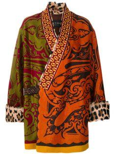 ETRO ETRO - OVERIZED MAKALU COAT . #etro #cloth #