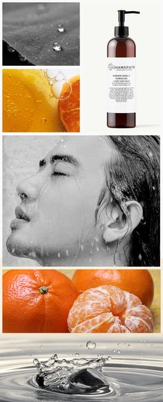 A sensorial feast! Body products for men.