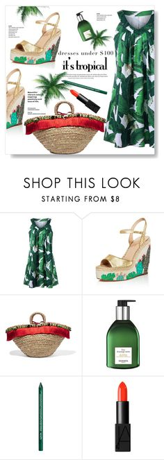 """""""Tropical"""" by viola279 ❤ liked on Polyvore featuring Kate Spade, Dolce&Gabbana, Hermès, NYX and NARS Cosmetics"""
