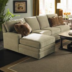 Custom Select Upholstery 2 Piece Sectional By Kincaid Furniture Wolf