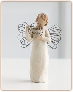 """Just for You"" Willow Tree angel figurine available at Ear Abstracts Boutique 714.996.3505 *We ship!*"