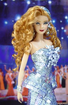 Miss Hollywood Barbie Doll 2007