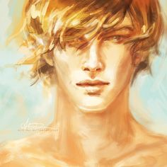 This is actually Finnick from the hunger games but it reminded me of Jace so.....