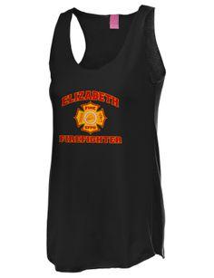 Elizabeth Firefighter Tank Top