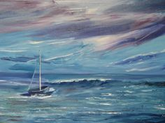 Mary, Waves, Artist, Painting, Outdoor, Outdoors, Artists, Painting Art, Paintings