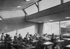 Arne Jacobsen, Primary and secondary school, munkegaard, Copenhagen, Denmark, 1956
