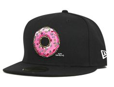 cc873a2de1b Donut 59Fifty Fitted Cap THE SIMPSONS NEW ERA Fitted Baseball Caps