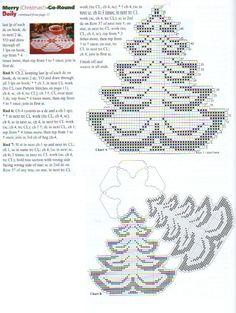 Toalhas de crochê para o Natal4.jpg (586×779)