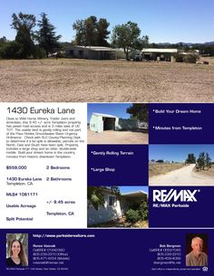 1430 Eureka Lane
