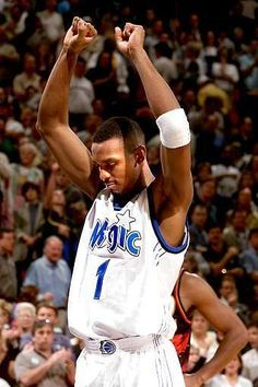 Anfernee Penny Hardaway when he played for the Orlando Magic.