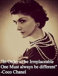 Coco Chanel - a classy clever lady #chanel #CocoChanel #quotes