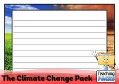 Learn about climate change, its effects and what we can do to help, with our enormous teaching pack. It includes topic guides, a video introduction, printable activity resources and display materials. Science Curriculum, Science Resources, Activities, Teaching Packs, About Climate Change, Geography, Packing, Bag Packaging